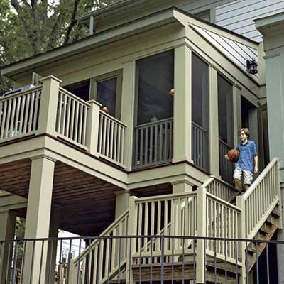 125 best images about screened in deck and patio ideas on for Deck gets too hot