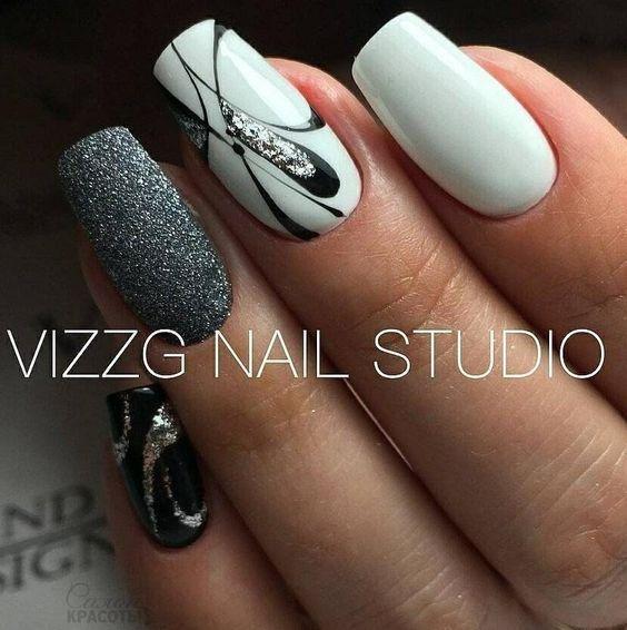 best 25 cute gel nails ideas on pinterest gel manicure designs grey gel nails and gel nail. Black Bedroom Furniture Sets. Home Design Ideas