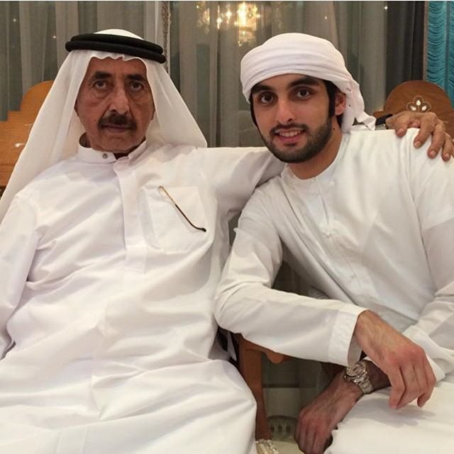 шейх заед с сыновьями фото