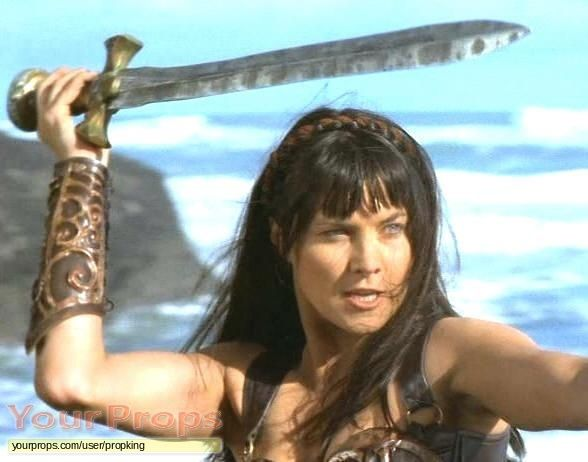 Image result for xena with double edged sword