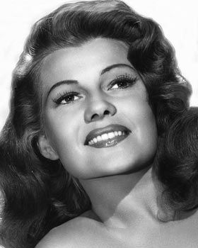 "Rita Hayworth, ""love goddess"" of the 1940's"