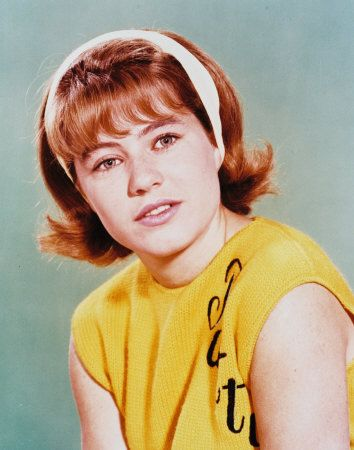 Patty Duke as Patty Lane (She also portrayed identical cousin Cathy Lane) - The Patty Duke Show