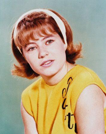 Patty Duke as Patty Lane (She also portrayed identical cousin Cathy Lane) - The Patty Duke Show