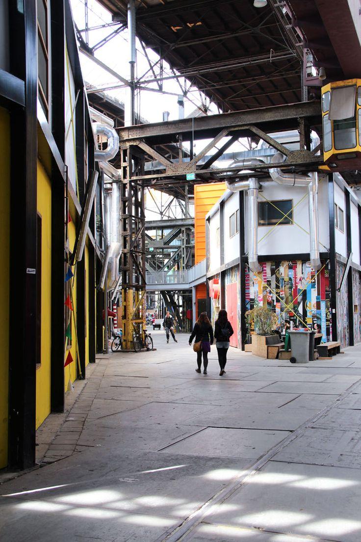 Inspirerende werkplek: NDSM-werf Amsterdam | Woonguide.nl