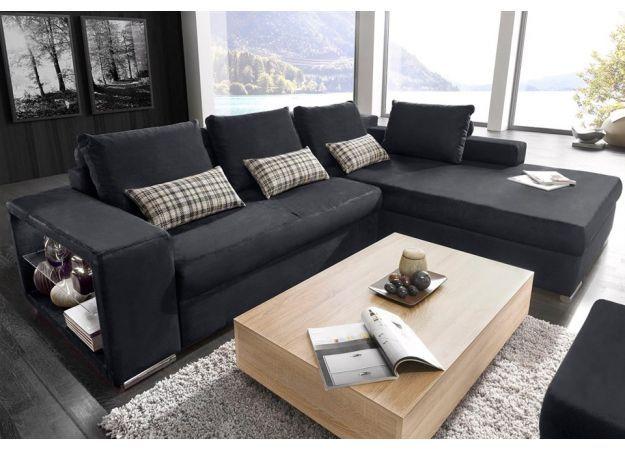Rohová sedačka s boku se skleněnou poličkou-ukzEIpKTL.jpg | Euronábytek, levný nábytek Praha, outlet a bazar s nábytkem