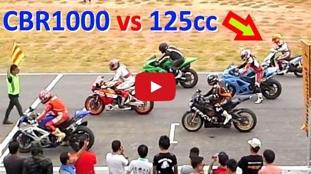 Un scooter de 125 cc planta cara a Superbikes: Vídeo | TVEstudio
