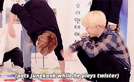✨ — the way Jimin gets so fond of Jungkook that he...