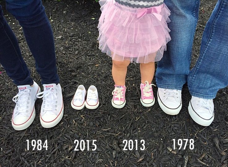 Baby announcement with shoes. Sibling baby announcement.
