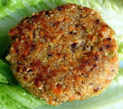 #quinoa cakes #recipe #vegetarian