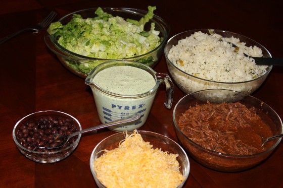 Freezer Meal Recipe: Cafe Rio Style Burritos & Salad | Fabulessly Frugal: A Coupon Blog sharing Amazon Deals, Printable Coupons, DIY, How to Extreme Coupon, and Make Ahead Meals