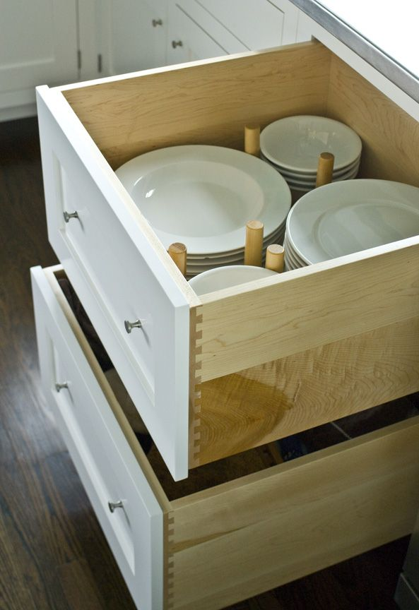 Solid maple cabinets  with custom drawer organizer  by Connor HomesTop 25  best Craftsman kitchen drawer organizers ideas on  . Kitchen Drawer Design Ideas. Home Design Ideas