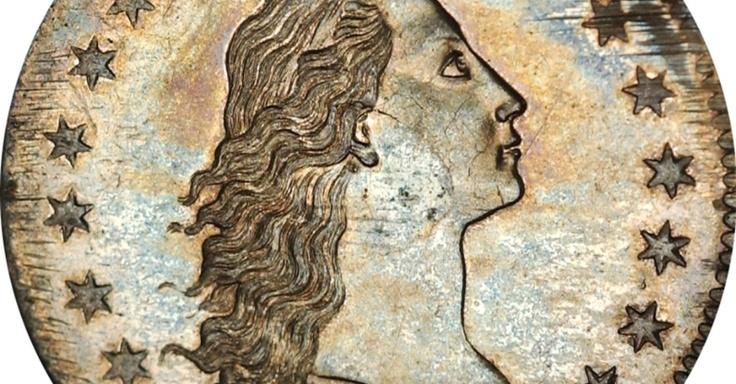 25/jan/2013 - EUA - Uma moeda rara de meio centavo, cunhada em 1796 nos Estados Unidos, foi leiloada por US$ 357 mil (cerca de R$ 725 mil) no sudoeste da Inglaterra nesta semana, pela casa de leilões Woolley and Wallis. A expectativa era vender a moeda por um preço entre US$ 40 mil e US$ 47 mil, valor que foi superado de longe. Stack's Bowers Galleries/Reuters.
