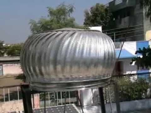 Making A Vawt Out Of A Roof Vent Movie Wmv Youtube Wind Turbine Roof Vents Turbine