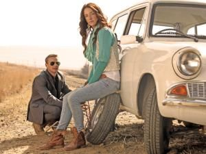 "Ford Anglia charms in new SA film ROAD TRIP: Ivan Botha and Donnalee Roberts in Pad Na Jou Hart. Donnalee Roberts is surprised by the overwhelmingly positive response to the use of a Ford Anglia in ""Pad Na Jou Hart"""