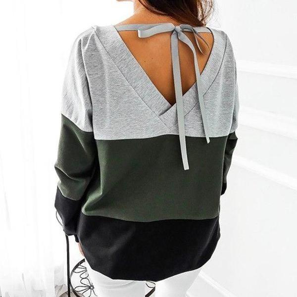 Autumn Female Plus Size Winter Sweatshirt Women Sweatshirt 2018 Harajuku Hoodies Patchworkuotelab 1