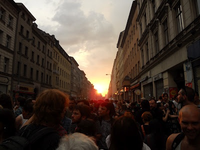 American expat in Berlin - MyFest (May Day) Erster Mai