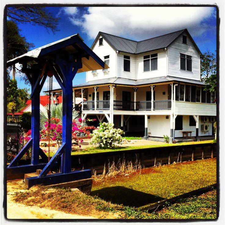 Directeurswoning op Plantage Peperpot, Suriname