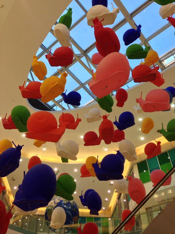 Installazione pop art a Orio Center (Bg)