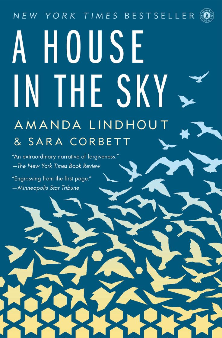 "The dramatic and redemptive memoir of a woman held for fifteen months of harrowing captivity in Somalia. ""A House in the Sky"" by Amanda Lindhout."