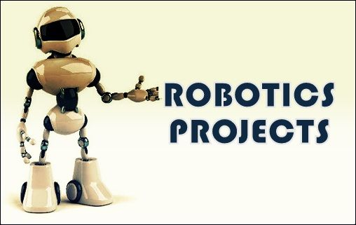 Best Robotics project ideas for final year engineering students have been listed here. RF controlled robotic vehicle, bomb detection robot, etc.