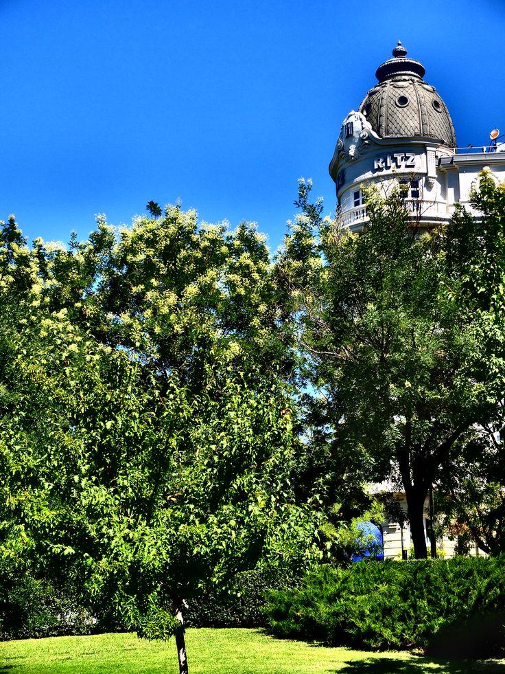Jardines entre El Prado y el Ritz