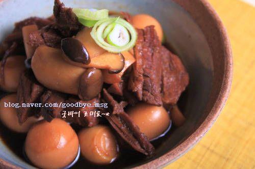 짜지않고 맛있는 <새송이 소고기 장조림> – 레시피 | Daum 요리