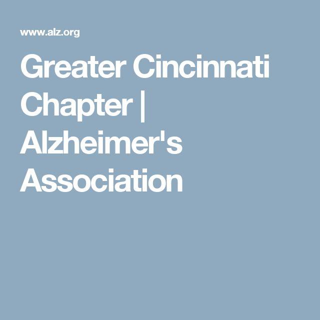 Greater Cincinnati Chapter | Alzheimer's Association