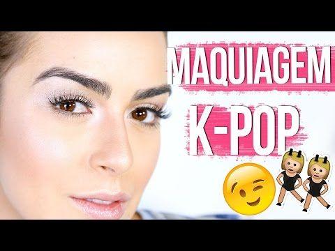 MAKE K-POP STAR Me diz, você já conhece o K-pop? É o movimento de música pop coreana que nasceu na década de 1990, mas que invadiu as redes sociais, especialmente por conta do K-pop Star, um programa de reallity show da tv coreana que está com tudo, mulher! Por isso, inspirada nas coreanas – que curtem muuuuuito beleza – resolvi fazer esse vídeo para vocês! por Mariana Saad.