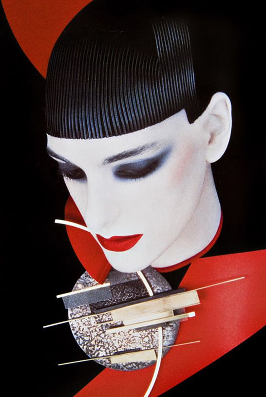 Serge Lutens, French photographer, filmmaker, hair stylist, perfume art-director and fashion designer. His vision is beautiful and conceptual, and his women look like pieces of art.