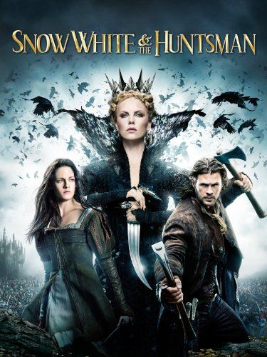 Snow White & The Huntsman - just freaking awesome. The visuals...well, except Kirsten Stewart's one face acting, the rest of the cast is phenomenal. #movie