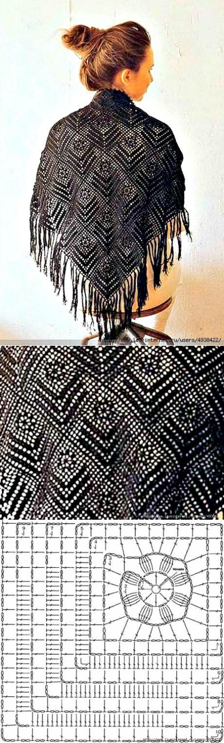 Crochet shawl idea