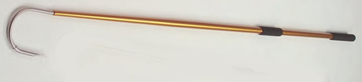 AftcoGAFFA256GLD Taper-Tip AluminumFishing Gaff Hook with 2-Inch Throat, 6-Foot, Gold *** More info could be found at the image url.