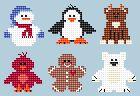 Free Bead buddy Craft Patterns | Winter Wonderland Craft Patterns for Sale at Craft Designs for You