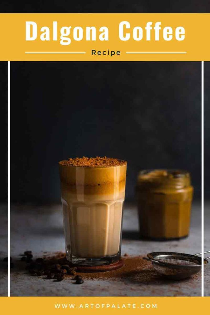WHIPPED COFFEE RECIPE | DALGONA COFFEE or BEATEN COFFEE is one of the best coffee recipes to recreate restaurant-style c…