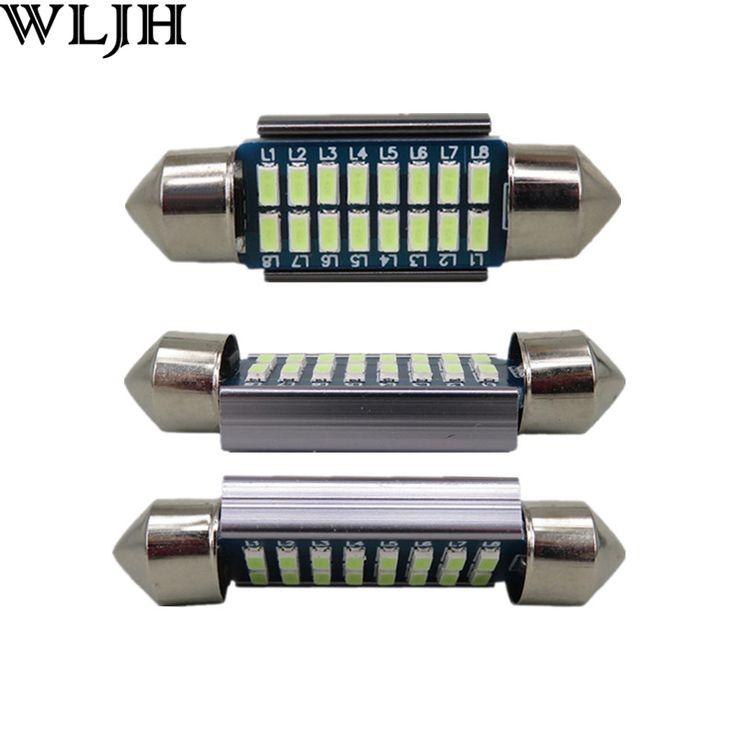 $5.08 (Buy here: https://alitems.com/g/1e8d114494ebda23ff8b16525dc3e8/?i=5&ulp=https%3A%2F%2Fwww.aliexpress.com%2Fitem%2F2pcs-LED-36mm-C5W-Lamp-Bulb-CANBUS-Registration-Number-Plate-License-Light-For-A2-A3-8L%2F32694393550.html ) 2pcs LED 36mm C5W Lamp Bulb CANBUS Registration Number Plate License Light For A2 A3 8L 8P A4 B5 B6 A6 4B 4F A8 D2 TT Q7 for just $5.08