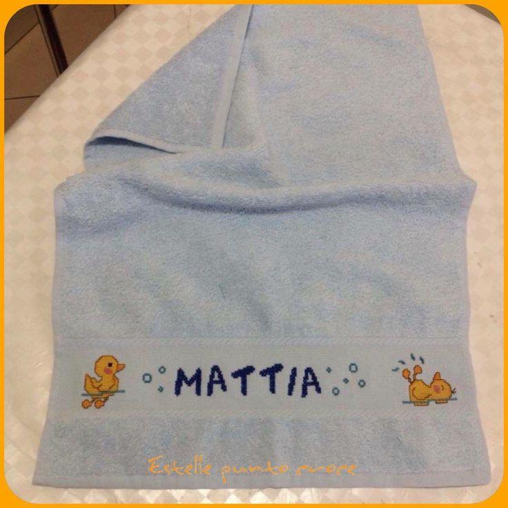 Asciugamano paperelle