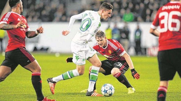 Wolfsburg - Manchester United: Draxler wackelt Schweini raus - Fussball - Bild.de