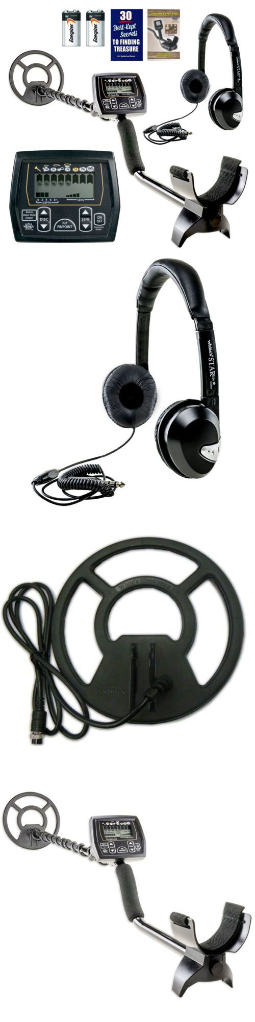 Metal Detectors: Whites Coinmaster Metal Detector W 9 Waterproof Search Coil And Headphones -> BUY IT NOW ONLY: $179 on eBay!