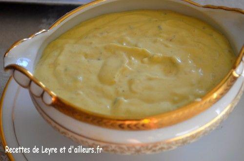 Sauce citronnée estragon câpres pour terrine de poisson