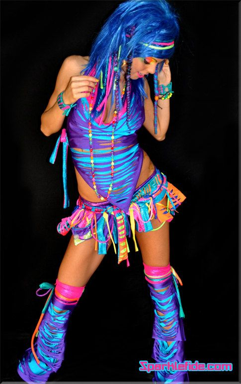 creative rave outfits ideas for girls