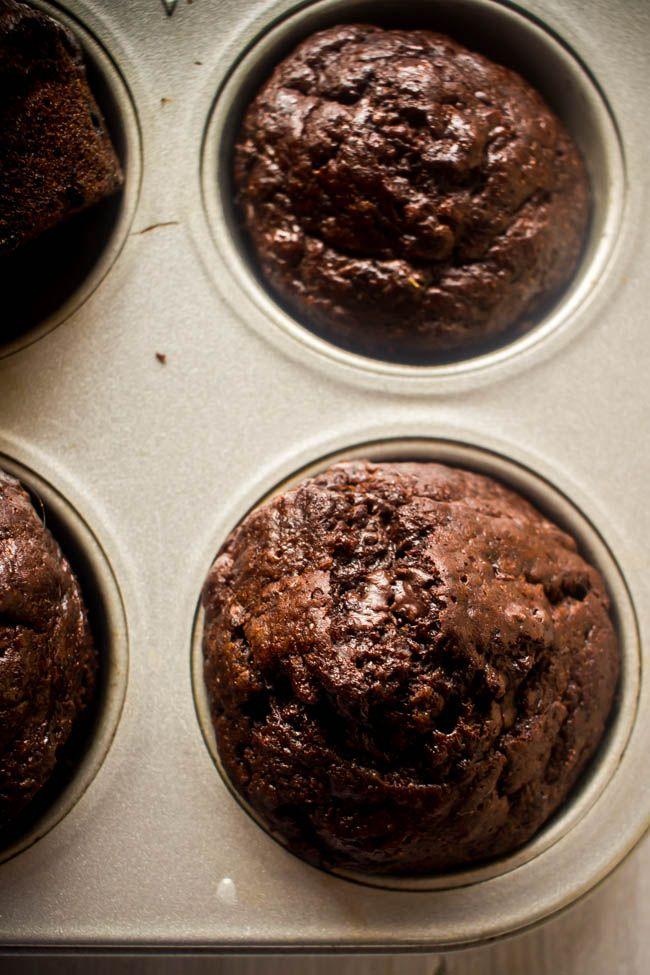 Muffins με σοκολάτα, μπανάνα και γιαούρτι - Myblissfood.grMyblissfood.gr