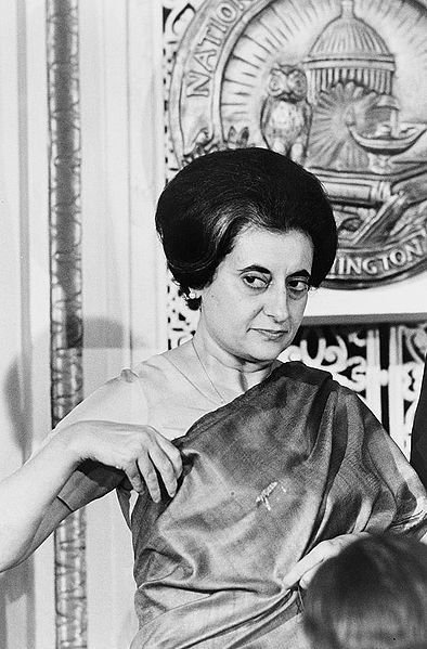 """""""You cannot shake hands with a clenched fist."""" Indira Ghandi."""