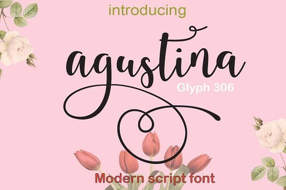 agustina by cooldesignlab on @creativemarket
