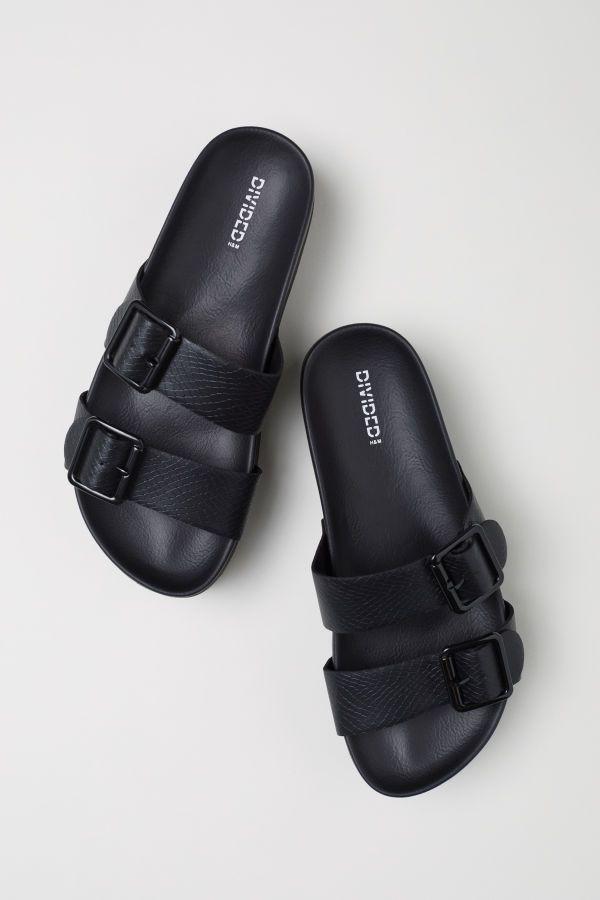 Platform Sandals   Black   DIVIDED   H M US   Placards de rêve ... 72fb1156ad6d