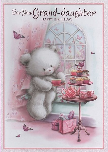Birthday Cards, Female Relation Birthday Cards, Granddaughter, For You, Grand-daughter Happy Birthday,