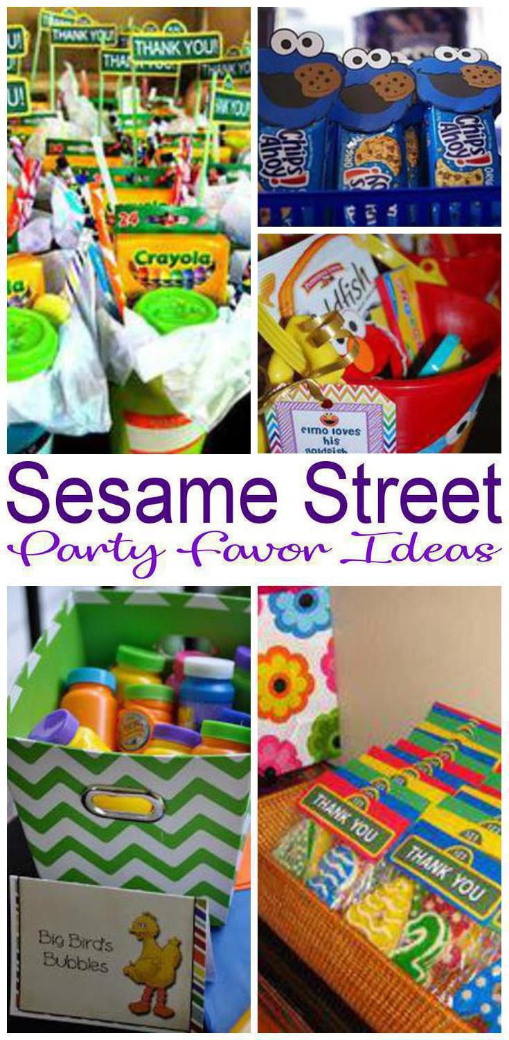 Find Amazing Sesame Street Party Favors For Boys And Girls Goodie Bag Ideas Toys Candy More Cool Birthday Parties Classroom