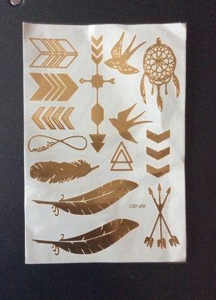 Kupuj mé předměty na #vinted http://www.vinted.cz/doplnky/ostatni/9365733-docasne-zlate-tetovani-hit-leta-2015-golden-tattoo