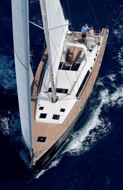 Beneteau Oceanis 58 Sailing Yacht - Admired by www.visit-vallarta.com