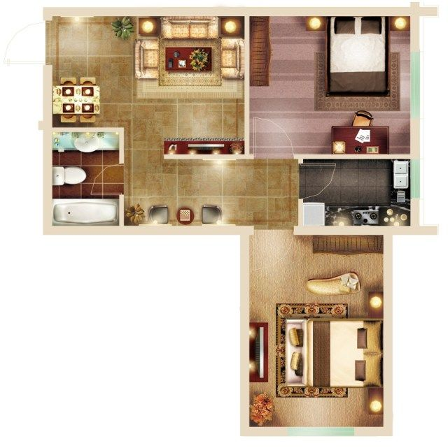 Pin On Interior Design Layouts Photoshop Psd Template