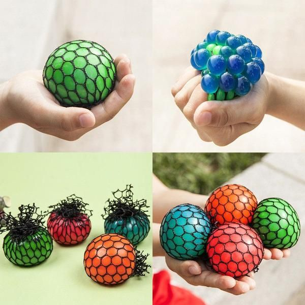 Anti Stress Gesicht Reliever Traube Ball Autismus Stimmung Squeeze Spielzeug